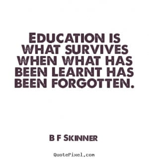 Skinner Quotes