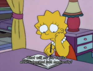 Don't be glum, Lisa! Why not re-read one of your favorite books ?