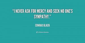 No Mercy Quotes