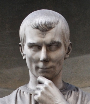 Machiavelli as immortal in marble. But he was once a very sensual and ...