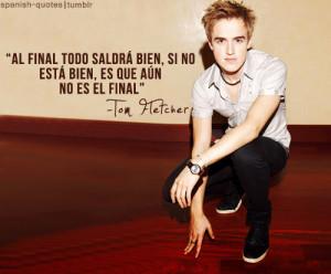 ... en espanol tom fletcher citas mcfly spanish quotes spanish quotes q