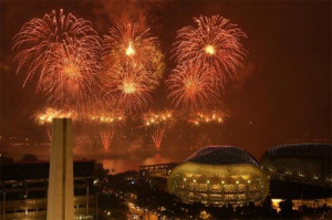 Singapore Fireworks Festival is an annual event hold in Singapore as