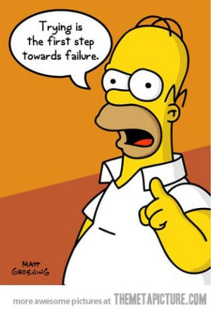 funny Homer Simpson quotes life