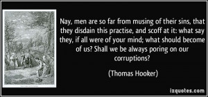 More Thomas Hooker Quotes