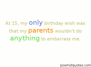 quote for teens about their birthday.
