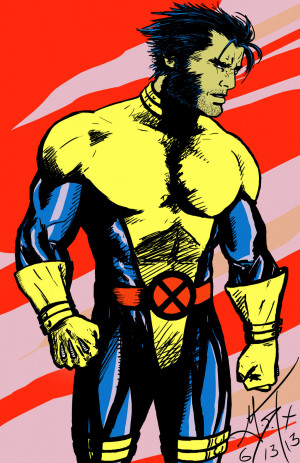 Jim Lee Wolverine Shlickdoo