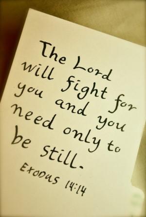 Exodus 14:14 Pure Power...