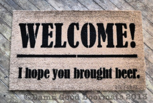Related Pictures funny doormats welcome guests with a laugh door mats ...