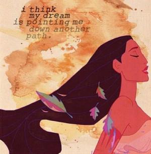 Pocahontas life quote