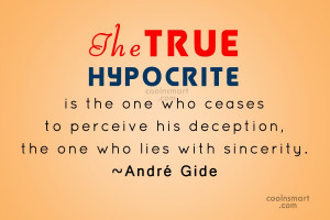 Hypocrite Quotes and Sayings