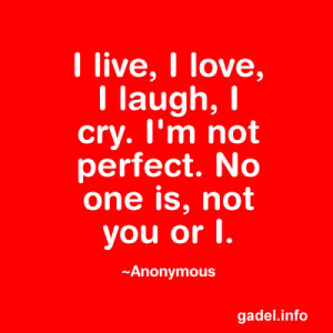 Not Perfect Quotes and Sayings to Keep You Going ~ HubBlogs with ...