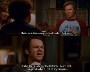 am cravin some Step Brothers right now. I wish wish wish wish it was ...