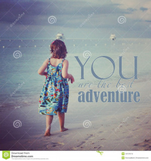 ... of ` Instagram of young girl walking on tropical beach with quote