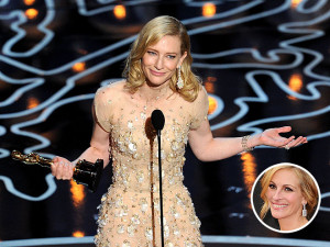 Cate Blanchett slams Julia Roberts, Jared Leto reveals a surprising ...