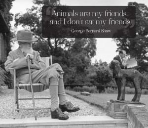 Životinje su moji prijatelji… a ja ne jedem svoje prijatelje ...