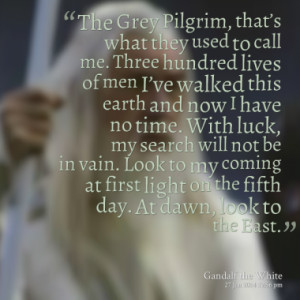 Quotes About: gandalf