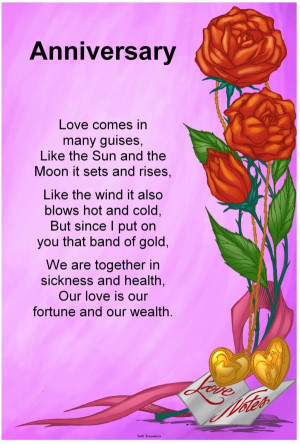 Year Anniversary Poems Quotes
