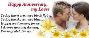 Happy Anniversary To My Love Happy Anniversary Quotes