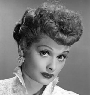 """Lucy Ricardo on """" I Love Lucy """":"""