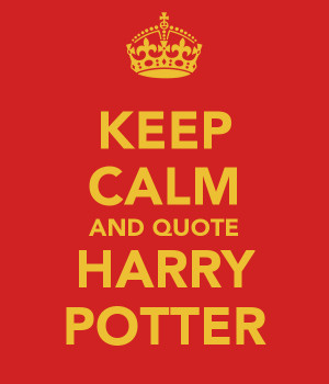 Harry Potter = Life