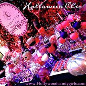 Halloween Chic! A Sparkly GLAMOWEEN! Pink & Purple Glitter Halloween ...