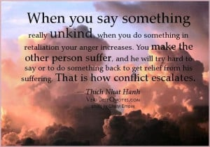 ... You Do Something In Retallation Your Anger Increases - Anger Quote