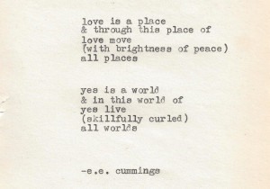 Quote We Love: Morning Inspiration from E.E. Cummings