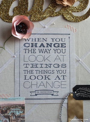 FREE Printable Change Quote