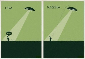 Aliens have visited Russia. Once