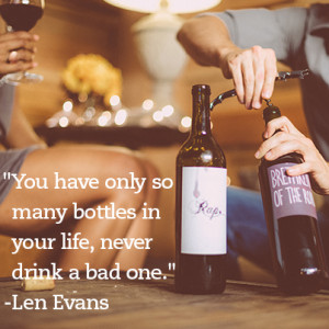 Drink wine, not labels.