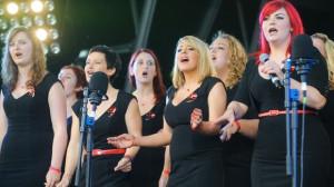Military Wives Choir Member Sam Stevenson Receives The Official ...