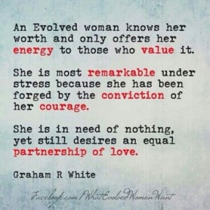 womans worth!!