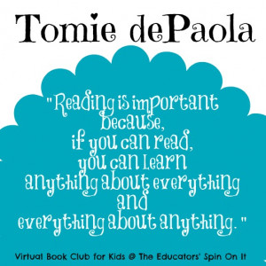 Tomie dePaola Author Study