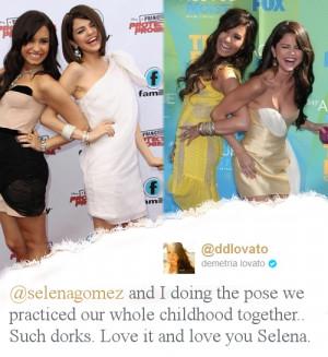 maria007 Selena Gomez & Demi Lovato = True Friendship 100% Real ♥