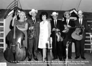 ... bill monroe mandolin del mccoury guitar billy baker fiddle and bill