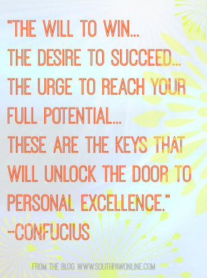 Confucius Inspirational quote from http://southpawonline.com/blogs ...