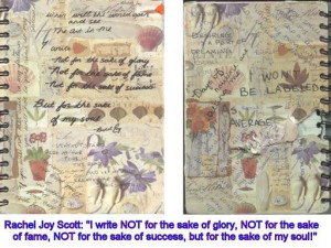 Rachel Joy Scott Journal Entries