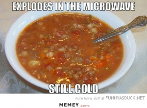 cooking vegetable soup in a microwave funny soup microwaves