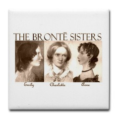 The Bronte Sisters Tile Coaster
