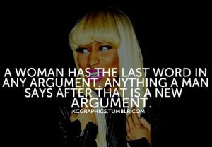 Nicki Minaj Quotes About Relationships .