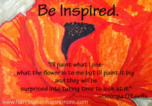 Create Color Like O'Keeffe: A Georgia O'Keeffe Art Unit