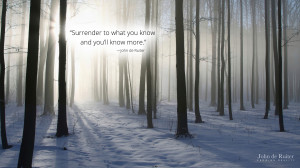 Quotes About Surrender