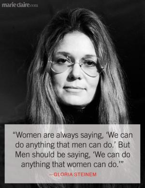 Times Gloria Steinem Said What Women Were Thinking