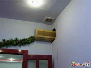 Air Conditioner For Two Rooms Jugaad