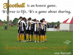 football quotes quotes about football soccer quotes football quote ...