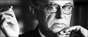 JEAN PAUL SARTRE. Filósofo y escritor francés. Se desconoce origen ...