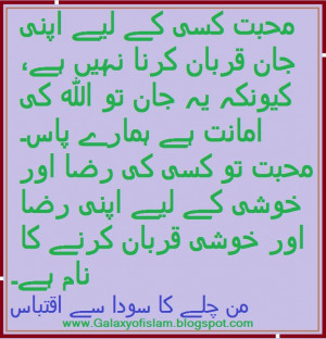 Sayings and quotes of Ashfaq Ahmed - Love is not sacrificing your life ...