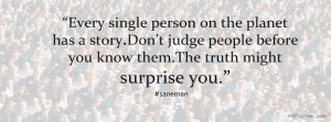 Do Not Judge People Before You Know Them facebook cover photo