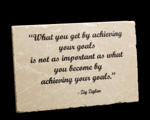 Achieving Your Goals Quotes