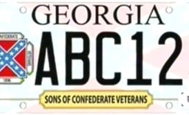 Georgia Officials Approve Confederate Flag Specialty License Plate